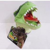 Dinossauro Verde - Fantoche De Mão Dino Fantoche Dtc.