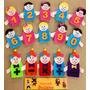 Dedoches De Matemática 15 Pçs Números 0 A 9 E As 4 Operações