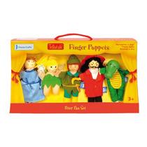 Fantoche De Dedo - Peter Pan Set 5 Fiesta Crafts Childrens
