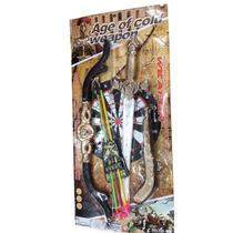 Kit Arco & Flecha C/espada Brinquedo Infantil Pronta Entrega