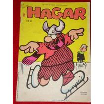 Hagar Nº 2 - Por Dik Browne - 1981- Ed. Vecchi - Muito Bom