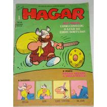 Hagar Nº 1 Por Dik Browne - 1981- Ed. Vecchi - Ótimo F
