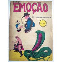 Super Emoção Em Quadrinhos Nº 1: Texas 1876 - Editora Roval