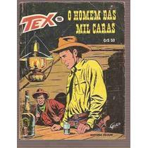 Tex - Nº 119 - O Homem Das Mil Caras - Ed. Vecchi - 1981