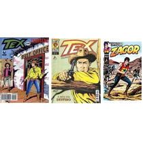 Lote Com 3 Revistas-tex 290/ Tex Coleção 269/ Zagor Esp 24