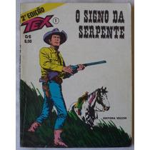 Tex Nº 1 Editora Vecchi 2ª Edição