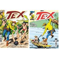 Lote Com 02 Revistas Tex Coleção Ed. 304 E 305 - Novas