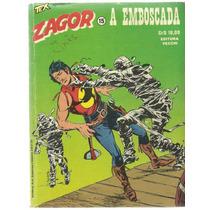 Gibi Zagor Nº 15 A Emboscada Ed Vecchi