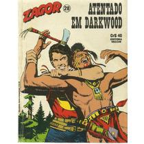 Gibi Zagor Nº 28 Atentado Em Darkwood Ed Vecchi