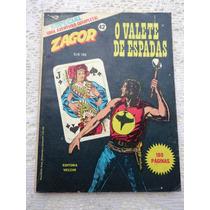 Zagor Nº 42: O Valete De Espadas - Ed. Vecchi - 1981 - Raro