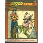 Zagor Extra Nº 3 - Chico Pele Vermelha - Record 1991