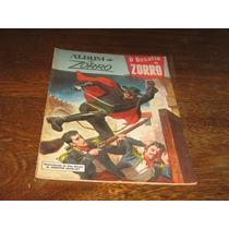Album De Zorro Nº 5 Ano:1974 Editora Ebal Original