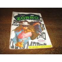Zorro 2ª Série Nº 1 Julho/1962 Editora Ebal Original