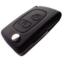 Chave Canivete Peugeot 206 207 Slim P/ Telecomando Original