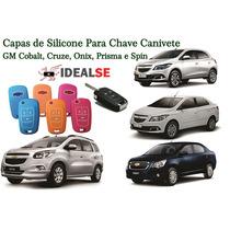 Silicone Chave Canivete Gm Cobalt/cruze/onix/prisma E Spin
