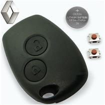 Capa Renault Telecomando Chave Alarme Logan E Sandero 2013