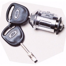 Cilindro Ignição Com Chaves Ford Ka Fiesta Courier Escort