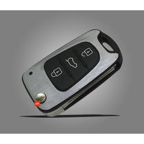 Chave Chave Canivete Hyundai I30 Azera Kia C/ Película