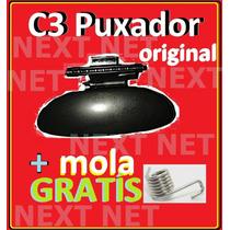 Kit Puxador Do Porta Luva Do Citroen C3 + Mola Original C3