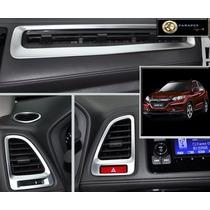 Honda Hrv Aplique Prata Saida De Ar Condicionado Acessórios
