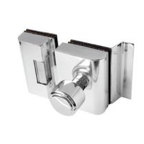 Fechadura Elétrica Para Porta De Vidro Agl Inox + Acionador