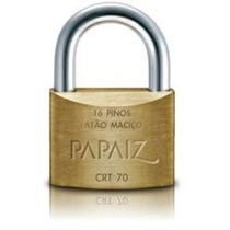 Cadeado Papaiz 70mm Chave Tetra Crt 70 - Nota Fiscal