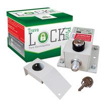 Trava Eletromagnetica Para Portao Lock Plus Com Temporizador