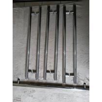 Puxador Duplo Com Regulador P/ Porta De Vidro Ou Madeira.