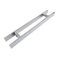 Puxador Aluminio P/ Porta De Madeira 60cm X 40cm Retangular
