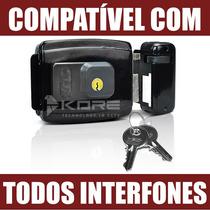 Fechadura Eletrica Eletronica 12v Ecp P/ Porta Portão Fx500