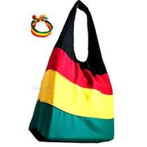 Bolsa Sacola Reggae Jamaica + Brinde Pulseira Tornozeleira!!