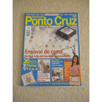 Revista Manequim Ponto Cruz N°62 Enxoval De Cama Páscoa