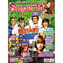 Revista Superfa #14 = Restart C/ Poster Luan Santana Nova!