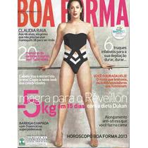 Boa Forma 312 * Dez/12 * Cláudia Raia