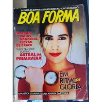 Revista Boa Forma Gloria Pires Rara Unica Estrela Da Globo