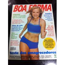 Revista Boa Forma Angelica Em Otimo Estado Linda Mesma