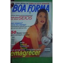 Revista Boa Forma Ano 10 Nº 8 Agosto1995 - Luana Piovani
