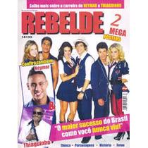 Revista Pôster Rbd\rebelde Gigante 52cm X 81cm