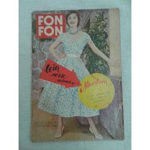 Revista De Modas Fon Fon 1956 Rara