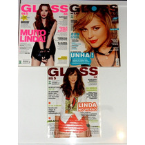 3 Revistas Gloss Otimo Estado
