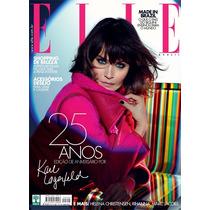 Revista Elle 25 Anos Edição Aniversario Karl Lagerfeld Usada