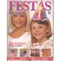 Festas Faça Fácil Uma Recepção Para Barbie Com Moldes