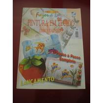 Revista Fazer E Lazer Pintura Em Tecido Emborrachado N°9