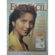 Faça Fácil #68 Ano 1990 Cassiana