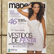 Revista Manequim 603 11/2009 Taís Araújo Roupas - Com Moldes