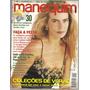 Revista Manequim Nº 408 - Dezembro/1993 - Ed Abril