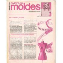 Caderno De Moldes Manequim - Ed.537 Setembro 2004