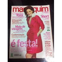 Revista Manequim Claudia Raia Chic Sexy Sensual Musa Linda.