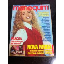 Revista Manequim Angelica Musa Da Tv Globo. Completa Moldes