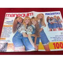Revista Manequim C Moldes As Paquitas Da Xuxa Fábio Junior